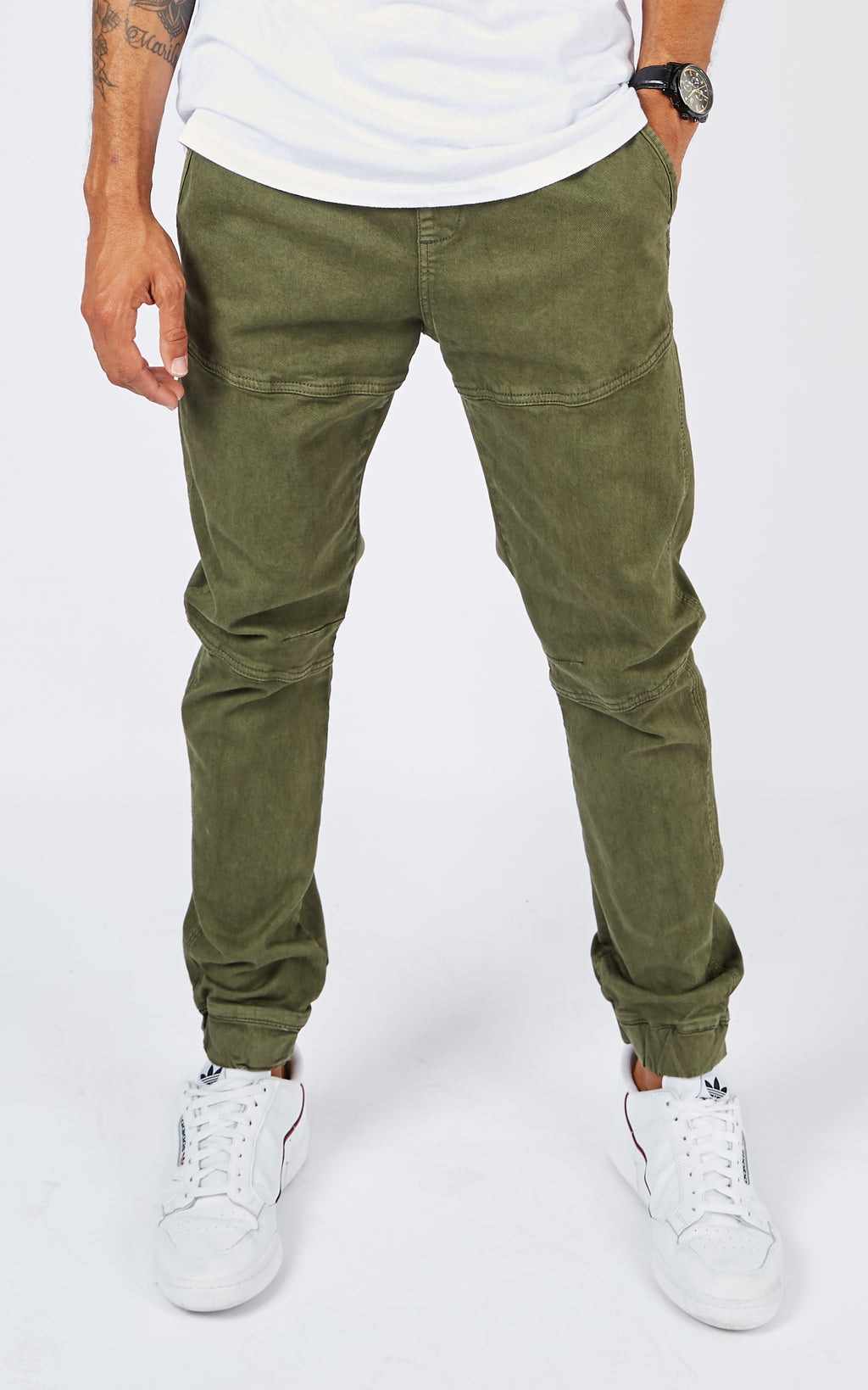 JOGGER ARMY GREEN PANTS