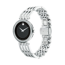 Movado Esperanza Women's 28mm Stainless Steel & Diamond Bezel 0607052