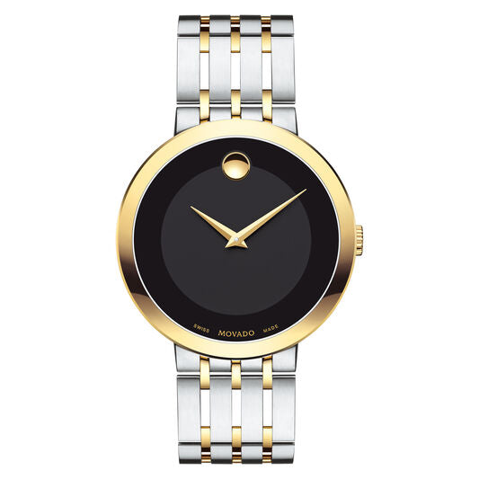 Movado Esperanza 39mm Men's Stainless Steel & Yellow Gold PVD Finished 0607058