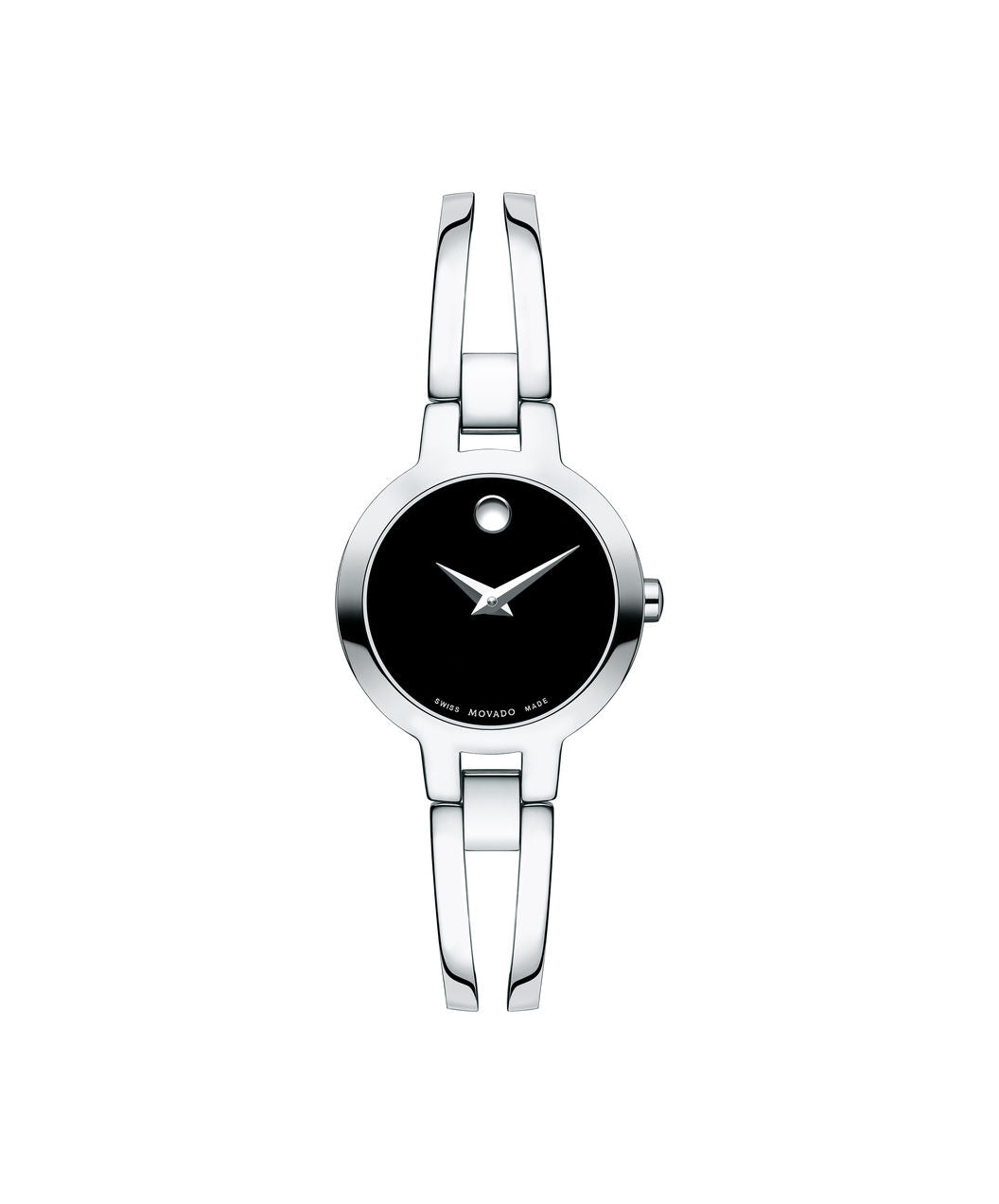 Movado Amorosa Women's Stainless Steel Bangle Watch 0607153