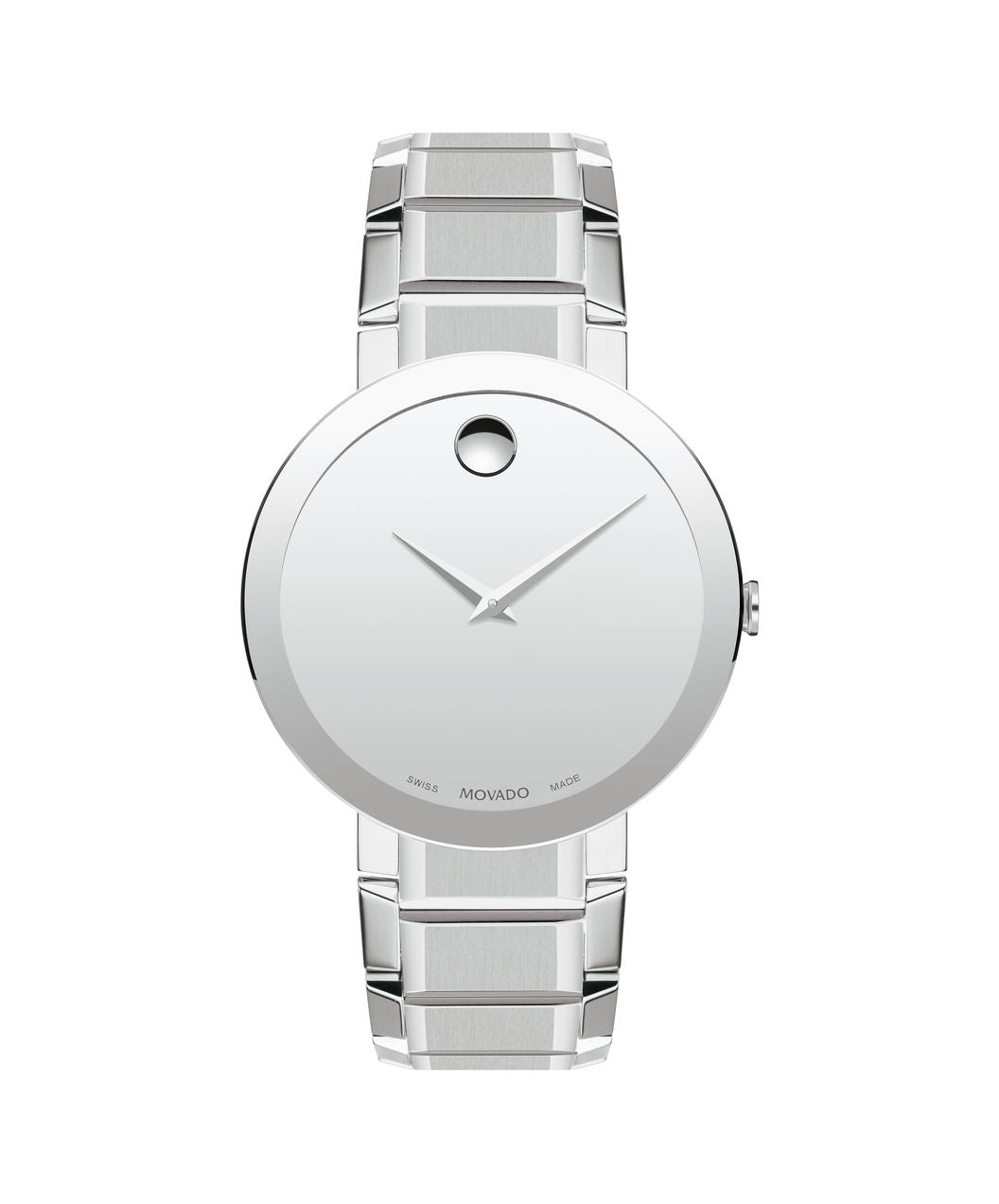 Movado Stainless Steel Sapphire Mirror 0607178