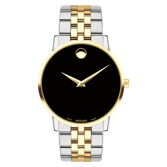 Movado Museum Classic 40mm Yellow Gold Pvd-Finished Stainless Steel 0607200