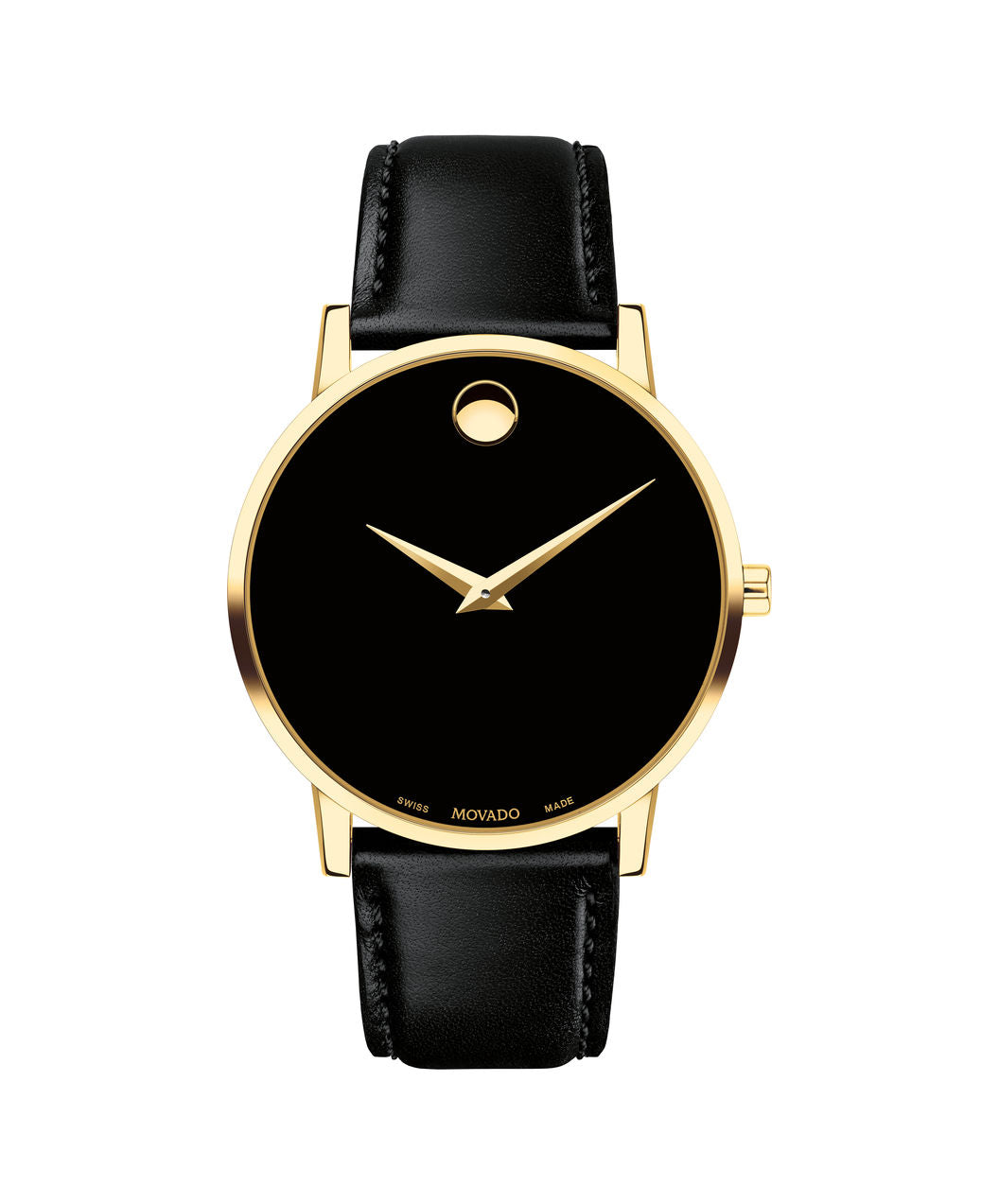 Movado Museum Black and Gold 0607271