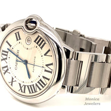 Stainless Steel Cartier 42mm Ballon Bleu De Automatic Watch
