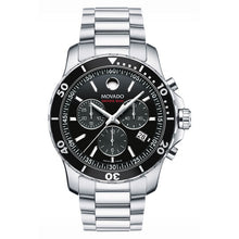 Movado Series 800 Chronograph 42mm Performance Steel & Unidirectional Bezel 2600142