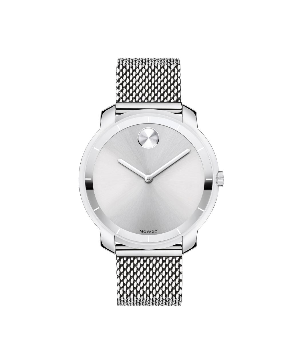 Movado Bold Stainless Steel Mesh Band 3600241 36mm