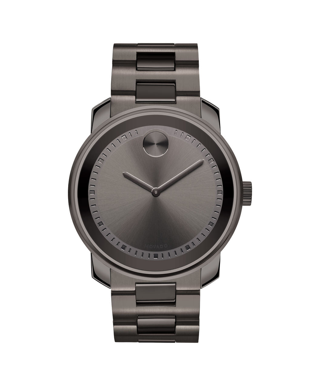 Movado Bold Stainless steel Gunmetal grey 42.5mm 3600259