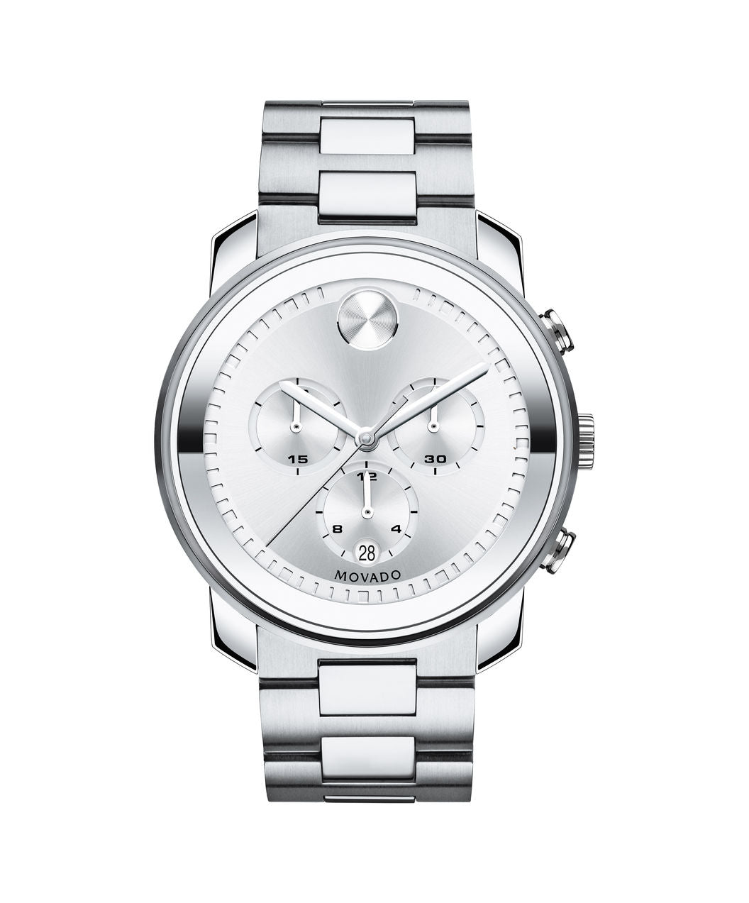 Movado Bold Stainless Steel 3600276 44mm