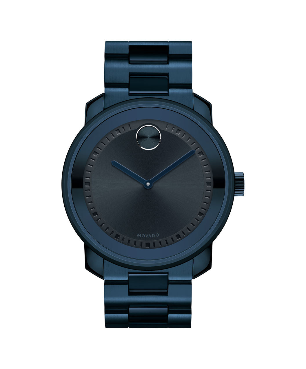 Movado Bold Stainless steel Ink Blue Metalization 42.5mm 3600296