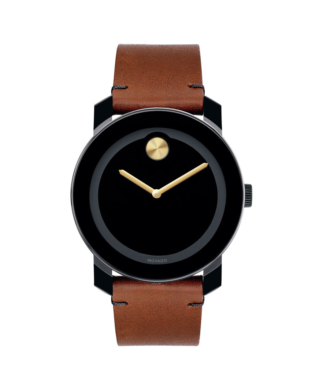 Movado Bold Brown Leather 3600305