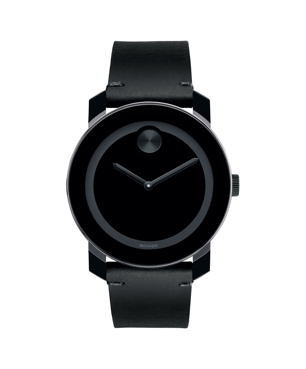 Movado Bold Leather Black Colorado 42mm 3600306