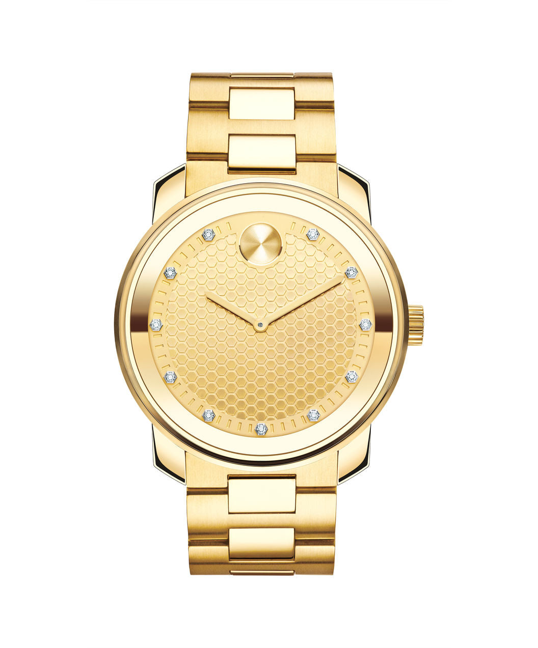 Movado Bold Gold tone 42.5mm with diamond dial 3600374