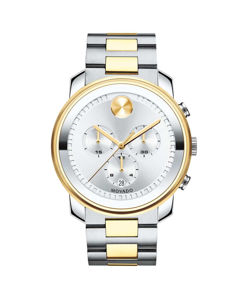 Movado Bold Stainless steel two tone gold  44mm 3600432