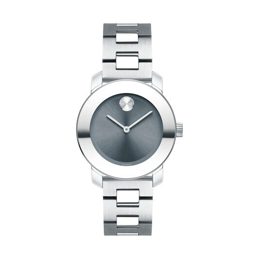 Movado Bold Women's 30mm Stainless Steel K1 Crystal & Sunray Dial 3600436