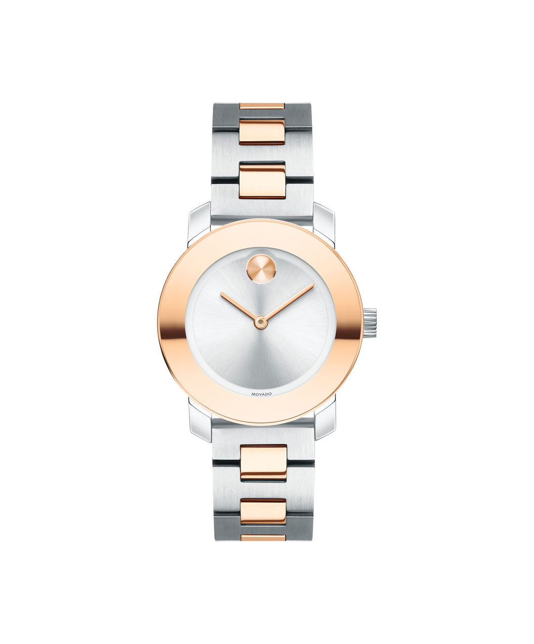 Movado Bold Stainless steel and Rose gold tone 30mm 3600464