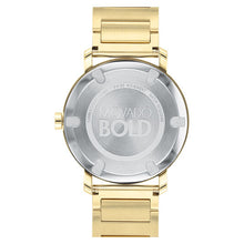 Movado Bold Evolution 40mm Light Gold Ion Plated Stainless Steel 3600508
