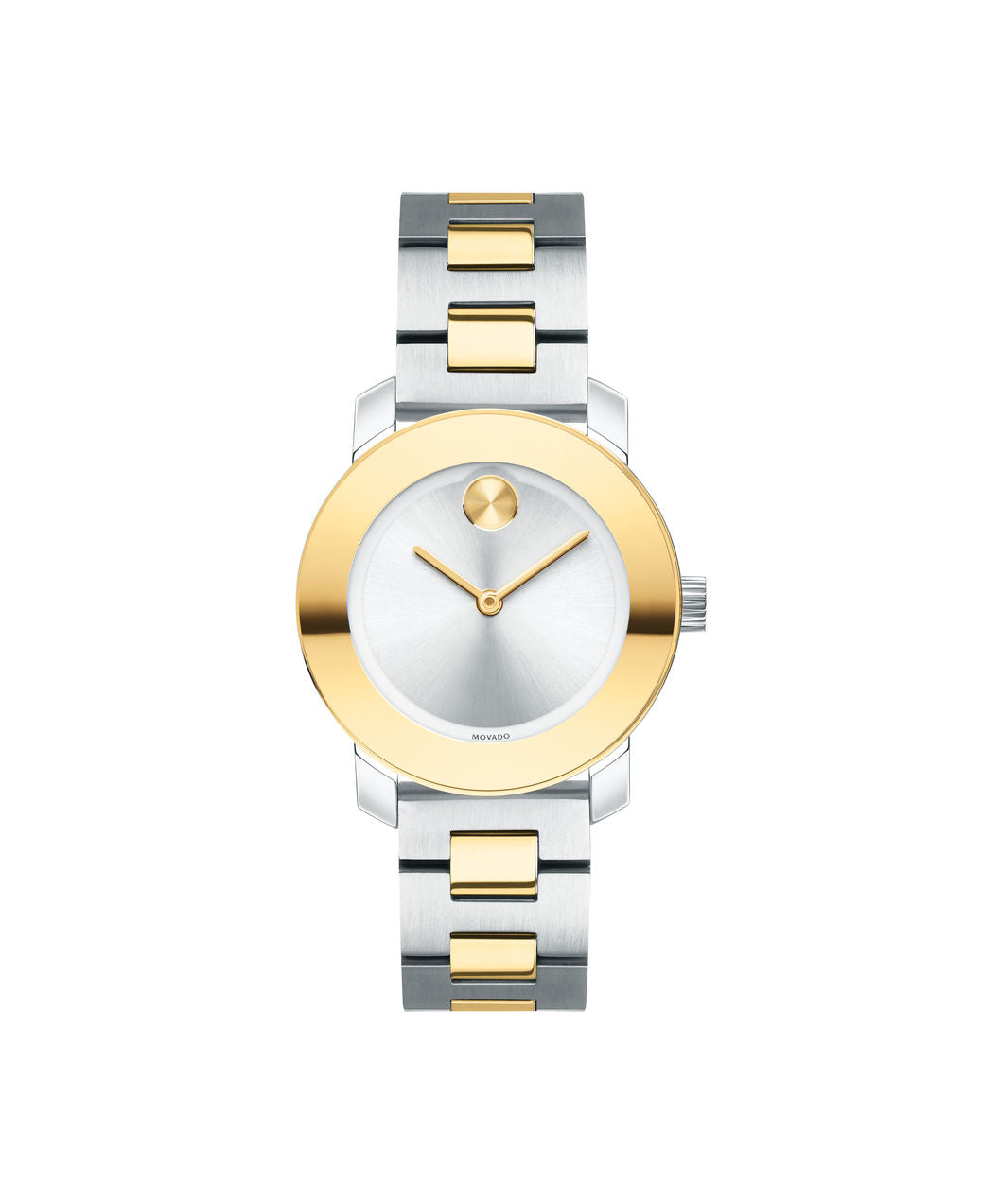 Movado Bold 30mm Two-Tone Ion-Plated Stainless Steel 3600551