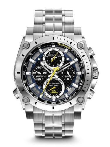 Bulova Precisionist Stainless Steel Chronograph 96b175