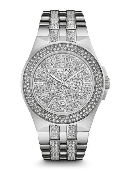 Bulova Swarovski Crystal watch 96b235
