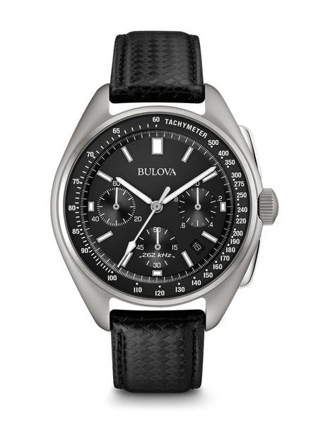 Bulova Special Edition Moon Chronograph Leather Strap 96b251