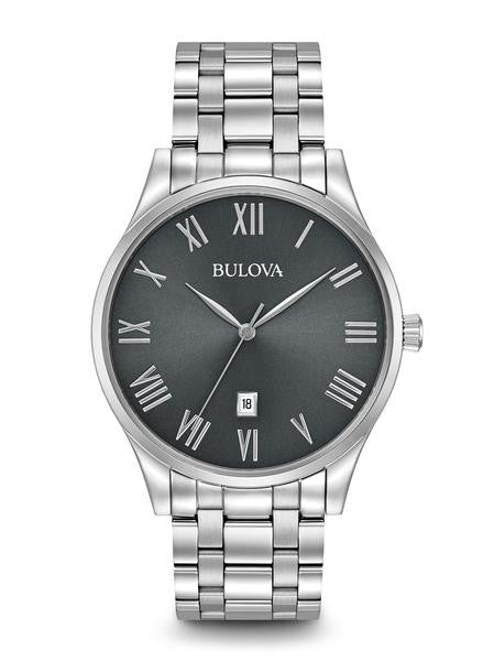 Bulova Classic Stainless steel With Roman Numerals 96b261