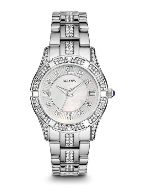 Bulova Womens Crystal Bulova watch 96l116