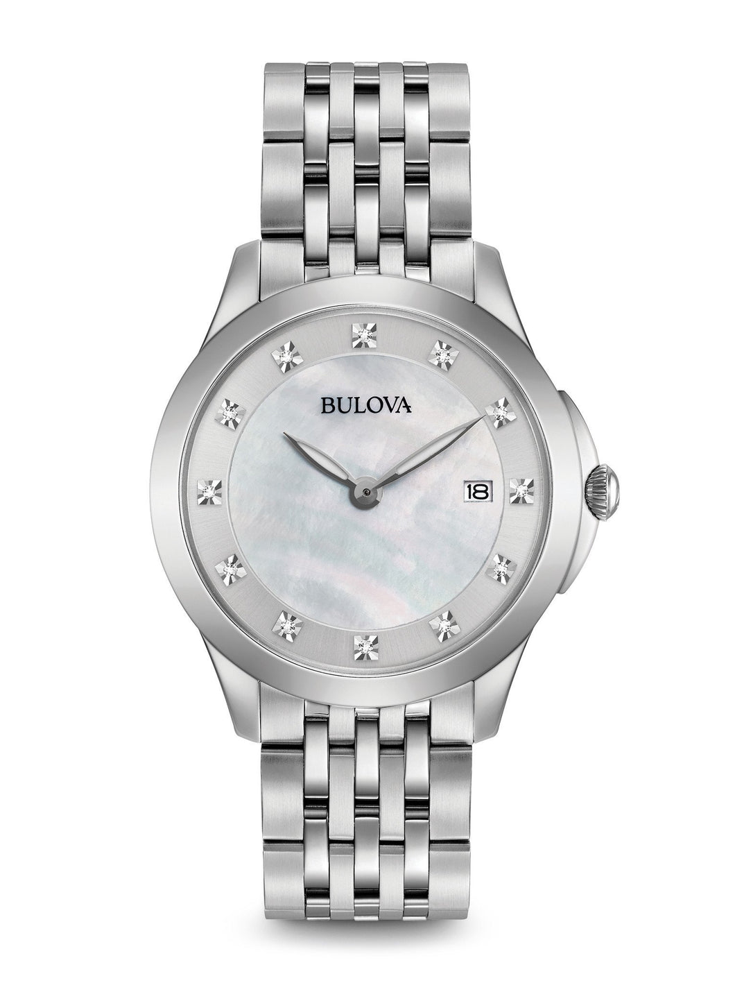 Bulova Stainless Steel 96p174