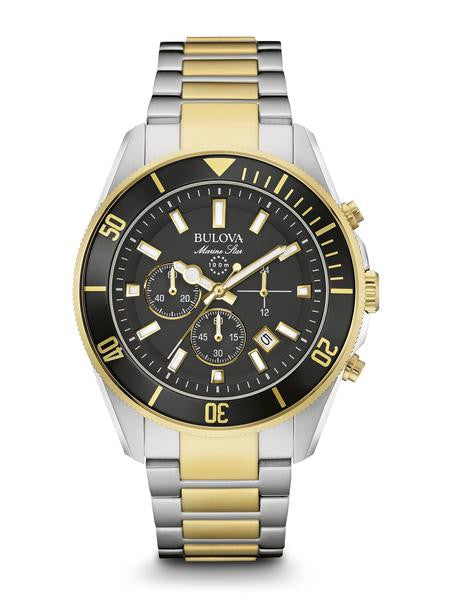 Bulova two tone Marine star 98b249
