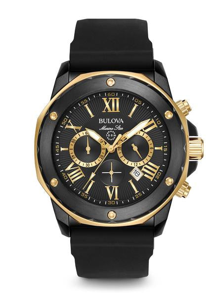 Bulova Marine Star with Rubber Strap 98b278
