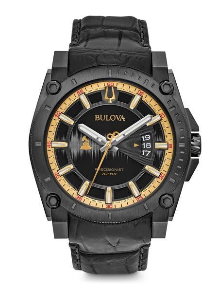 Bulova Prescisionist GRAMMY SPECIAL EDITION Leather 98b293