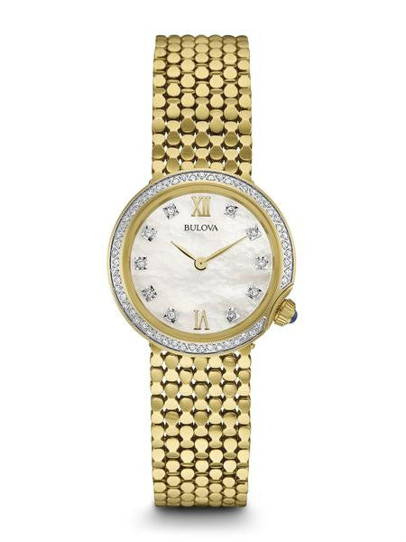 Bulova Womens Diamond Watch 98r218