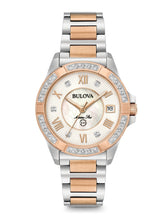 Bulova Ladies Marine Star Rose tone with Diamond dial 98R234