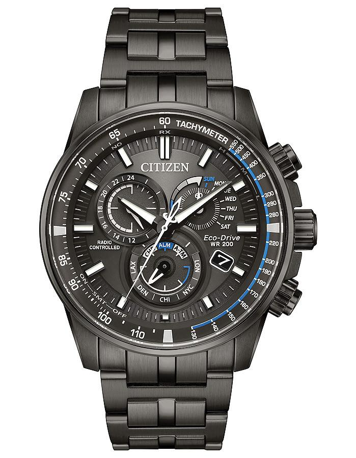 Citizen Eco-Drive watch PCAT Perpetual chrono AT Black Dial AT4127-52H