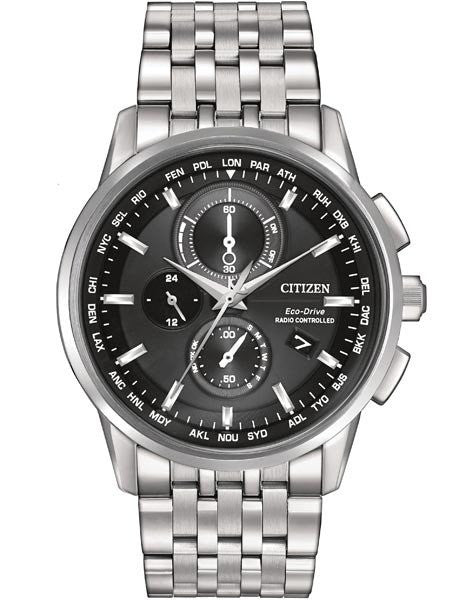 Citizen Eco Drive World Chronograph AT-Black AT8110-53E