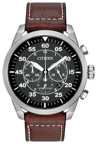 Citizen Avion CA4210-24E Brown Strap