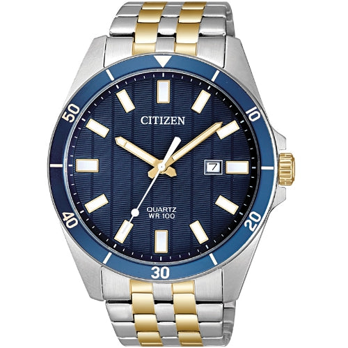 Citizen Quartz Stainless Steel Gold Tone BI5054-53L