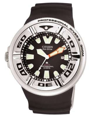 Citizen Professional Diver Scuba BJ8050-08E Black dial Rubber strap