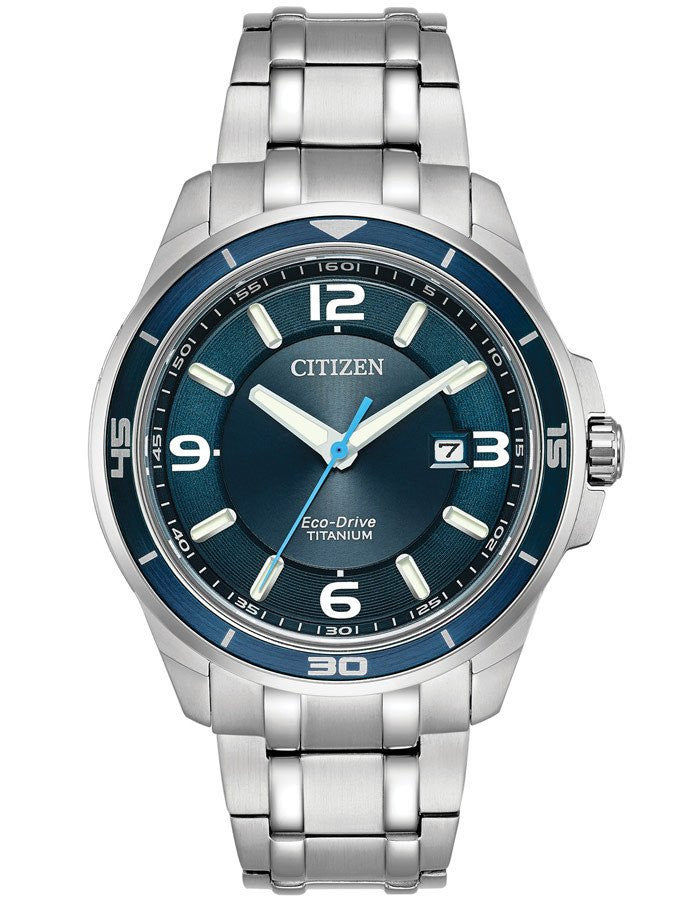 Citizen Eco-Drive Mens Sport Watch -BM6929-56L Blue Tone