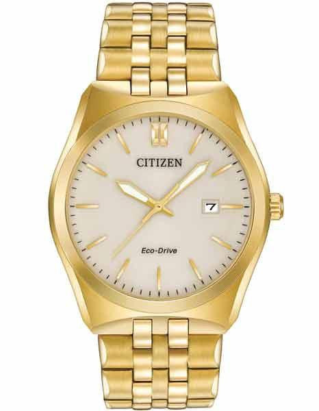 Citizen Eco drive Gold tone BM7332-53p Corso