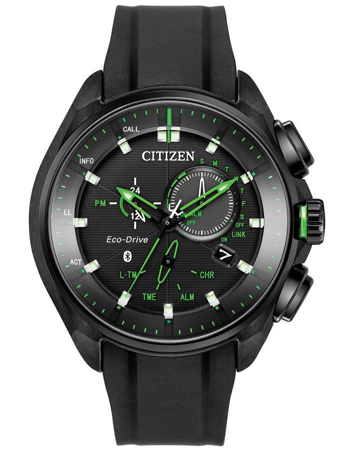 Citizen Eco Drive Black Proximity Bluetooth BZ1028-04E