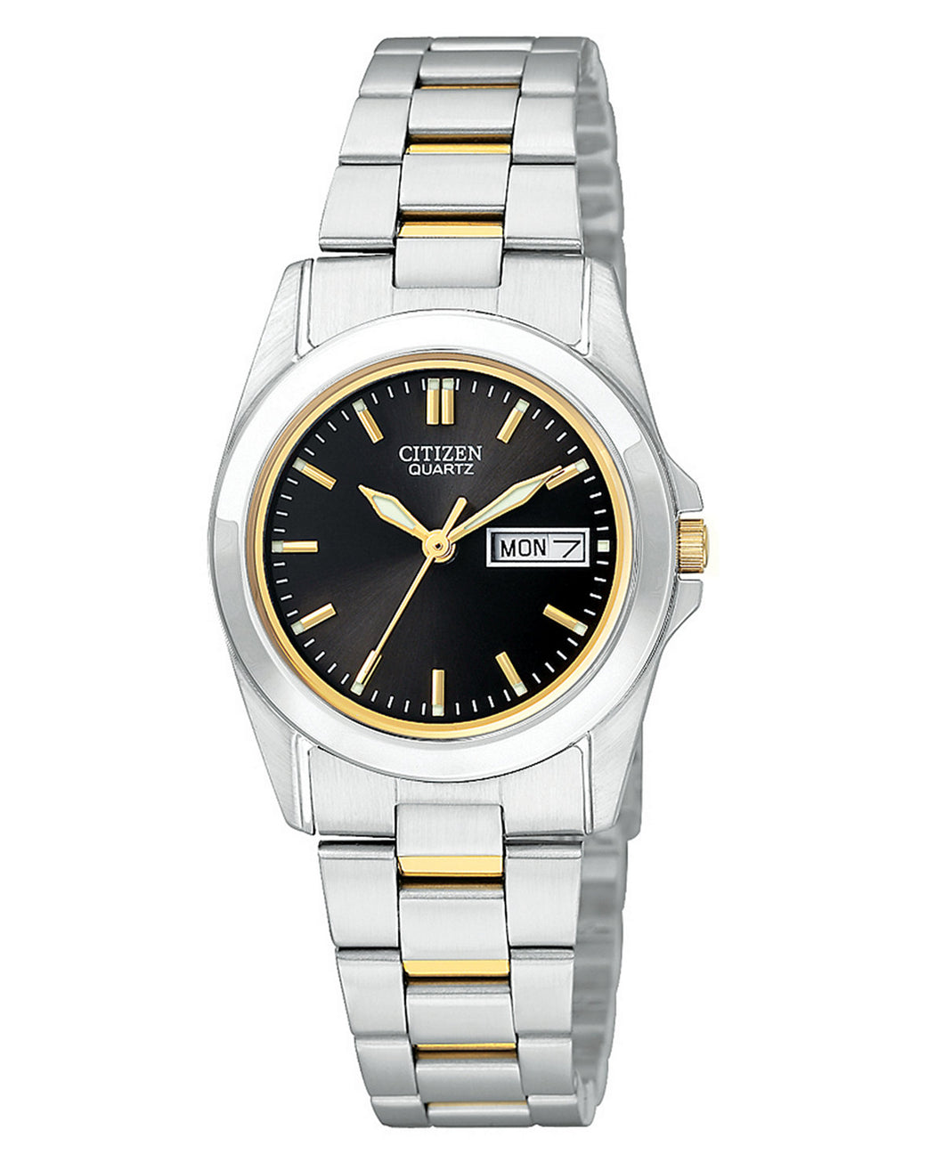Citizen Quartz two tone ladies EQ05654-59E