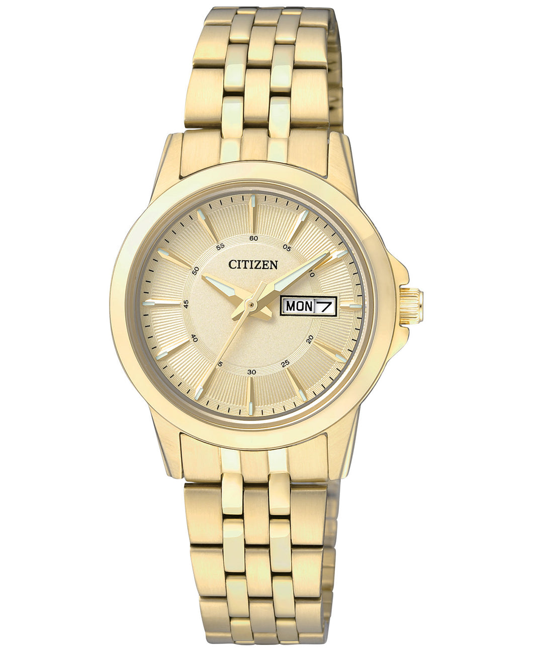 Citizen Quartz Gold tone EQ0603-59P