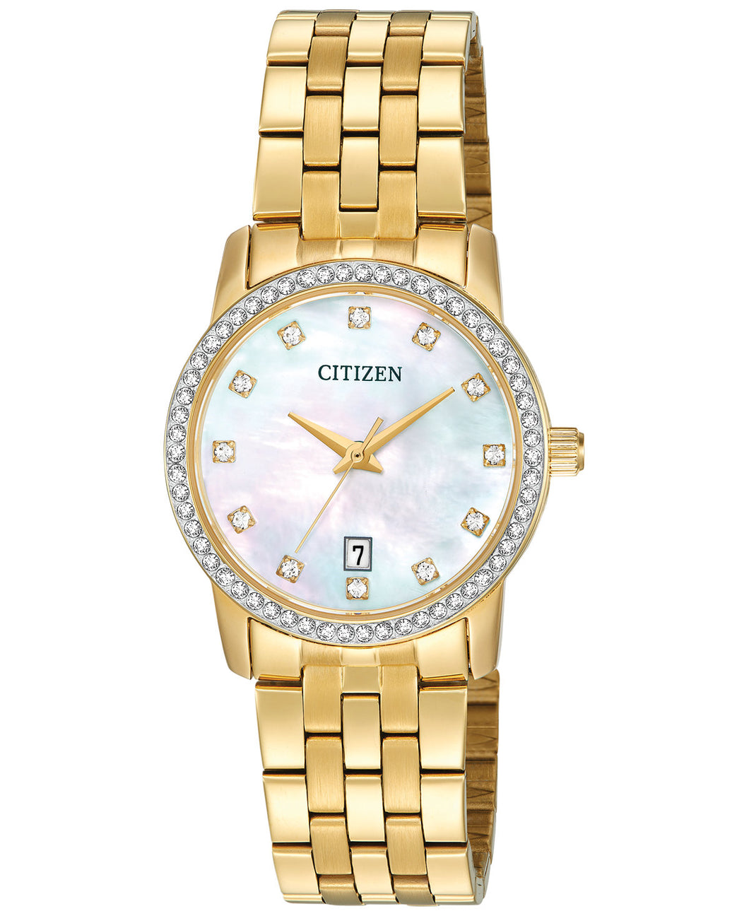 Citizen Quartz Gold tone EU6032-51D
