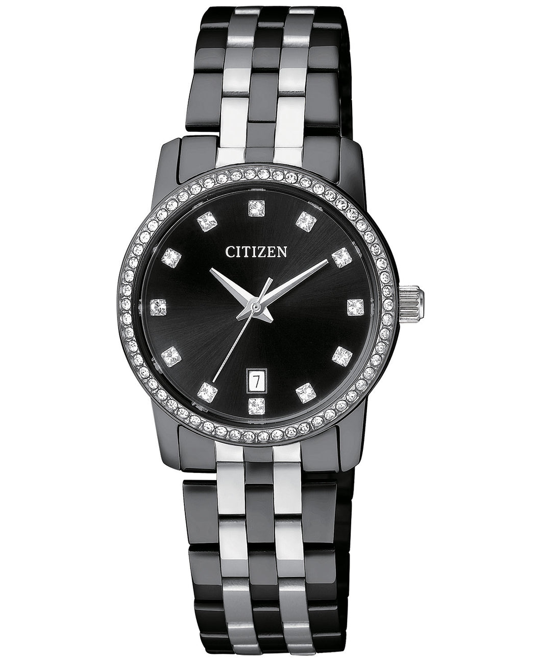 Citizen Quartz Ladies stainless steel EU6037-57E