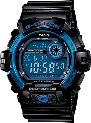 Casio G8900A-1 Men's G-Shock Digital Sports Watch
