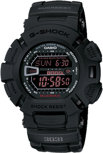 Casio Men's G-Shock Military Concept Black Digital Watch G9000MS-1CR