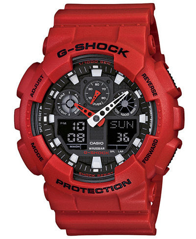 Casio G-Shock GA100B-4ACR Mens Limited Edition Watch