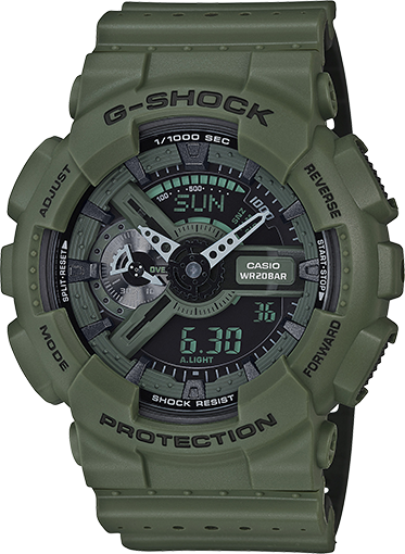 Gshock Green GA110LP-3A