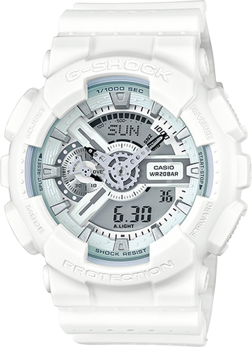 Casio G-Shock Marine White Series Watch GA110MW-7A