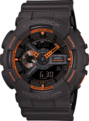 G-Shock GA110TS-1A4 Analog-Digital Display Quartz Grey Men's Watch